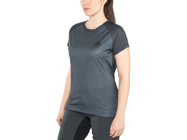 IXS Flow SS Jersey Women black/graphite
